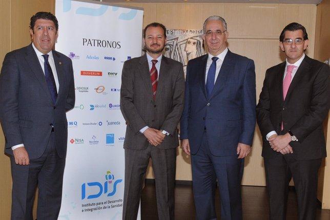 Firma del acuerdo de colaboración entre Aramark  y el IDIS