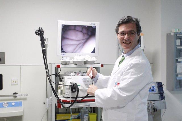 Guillermo Payeras, del Hospital de Villalba