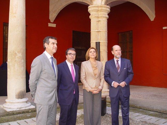 Foto Cospe Y Demás Firma Protocolo