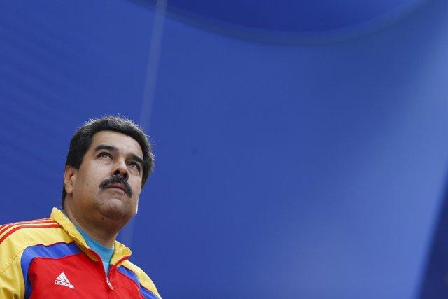 El presidente de Venezuela , Nicolás Maduro.