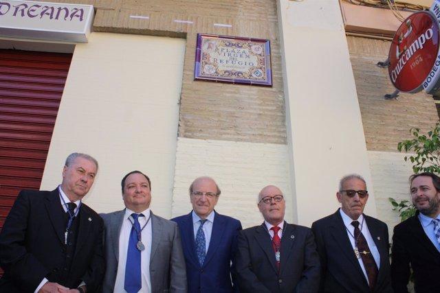 Nueva plaza de la Virgen del Refugio en Huelva.