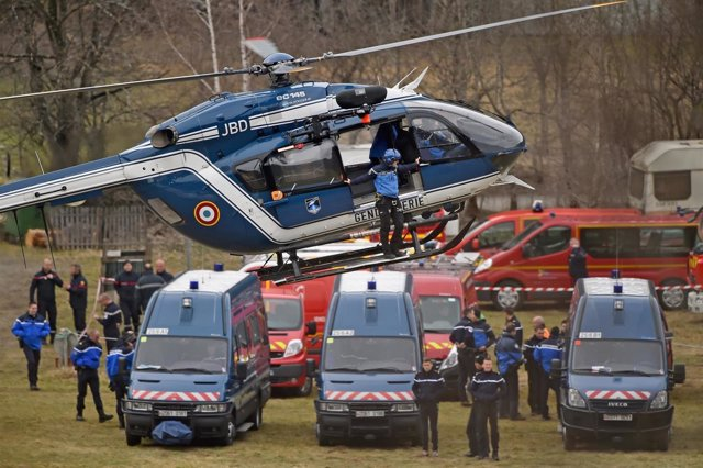 Accidente Germanwings en los Alpes Franceses