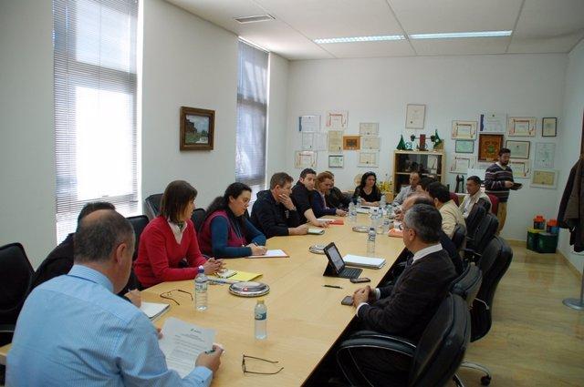 Reunión de la mesa negociadora del convenio de Sadeco