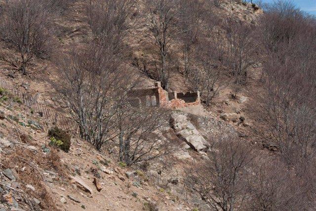 Zona del entorno de las Minas de Sant Marçal