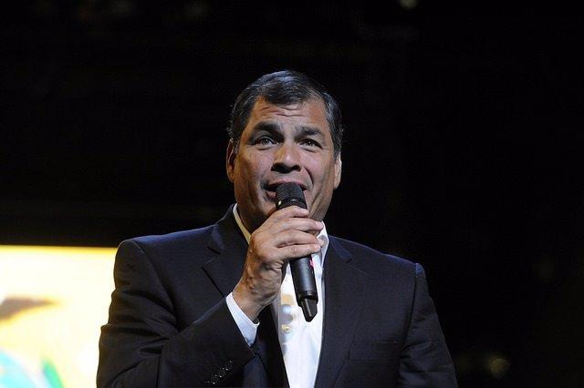 Rafael Correa en aniversario de golpe de Estado 30-S