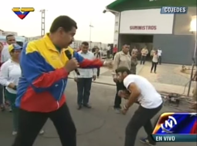 Maduro boxeo