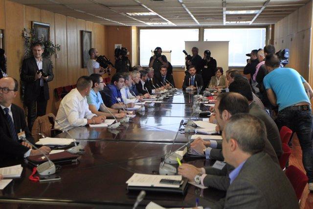 Alberto Nadal preside la reunión de Industria con la Comisión del Carbón