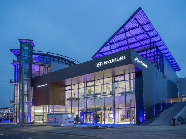 Concesionario de Hyundai en Frankfurt