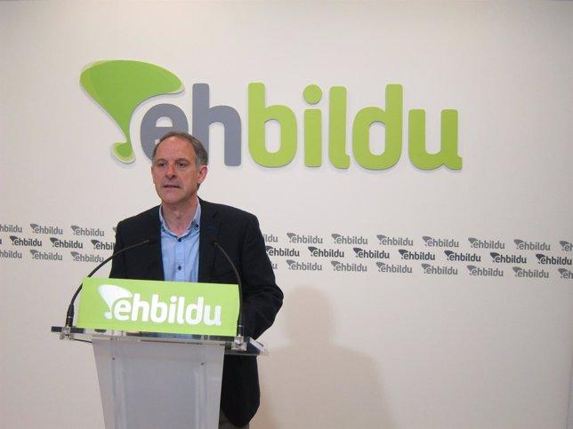 Adolfo Araiz, candidato de EH Bildu en Navarra.