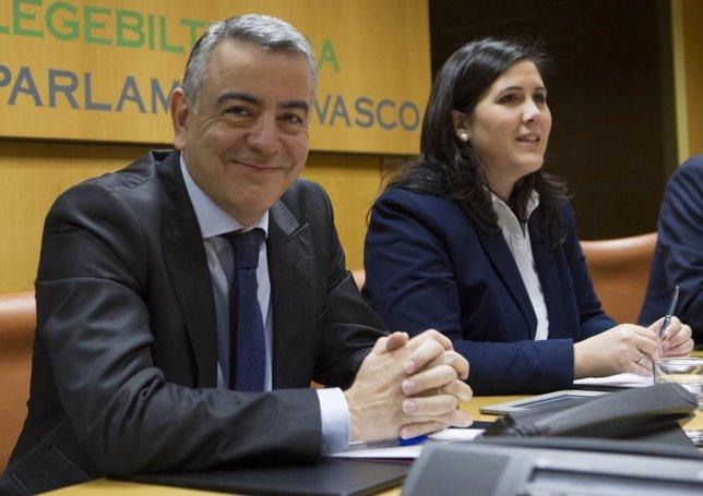 Javier De Andrén en comisión parlamentaria