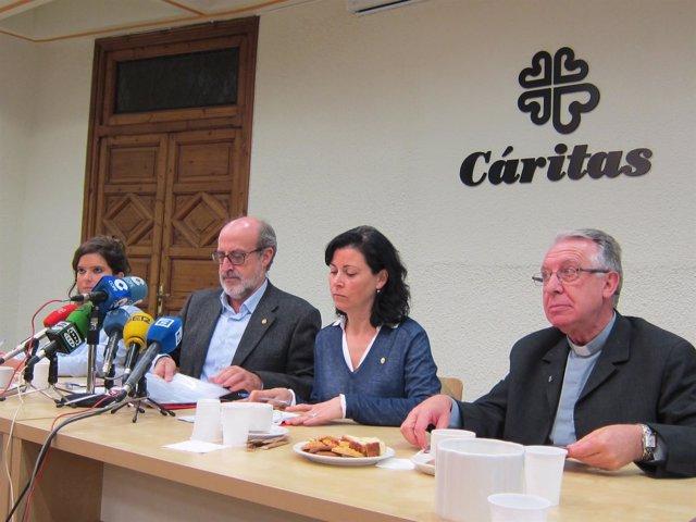 Ignacio Alonso, Mari Luz Baeza, Jesús Rodriguez de la Vega y Carmen Álvarez, cár