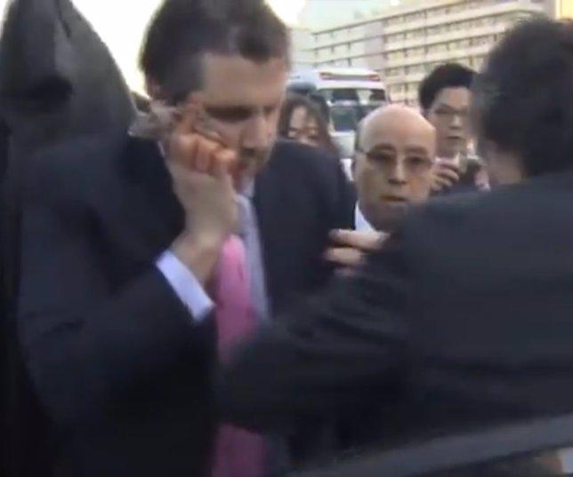 Embajador de EEUU en Corea herido