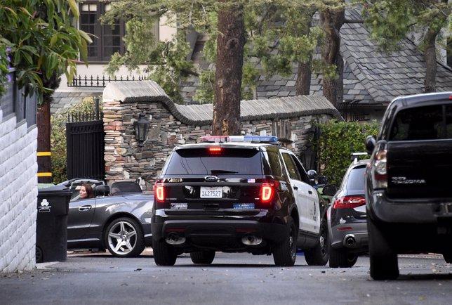 Policía en la casa de f Andrew Getty, encontrado muerto