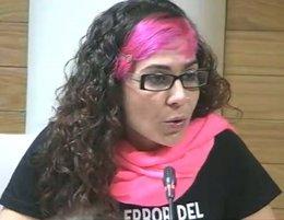 Vanessa Lillo durante su intervención