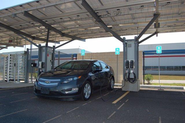 Punto de recarga de coche eléctrico de General Motors