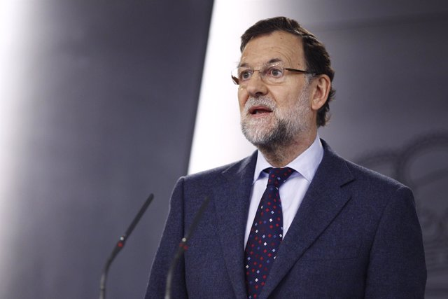 Mariano Rajoy en la Moncloa