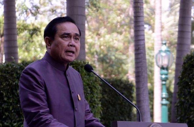 El jefe de la junta militar tailandesa, el general Prayuth Chan Ocha