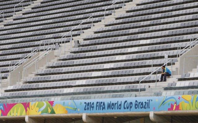 Estadio Arena Baixada en Curitiba, Mundial