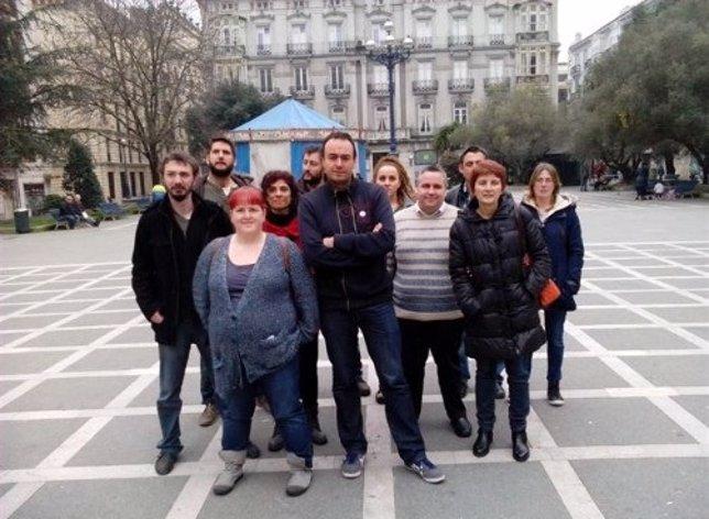 José Ramón Blanco, secretario general de Podemos, encabeza Claro que Podemos
