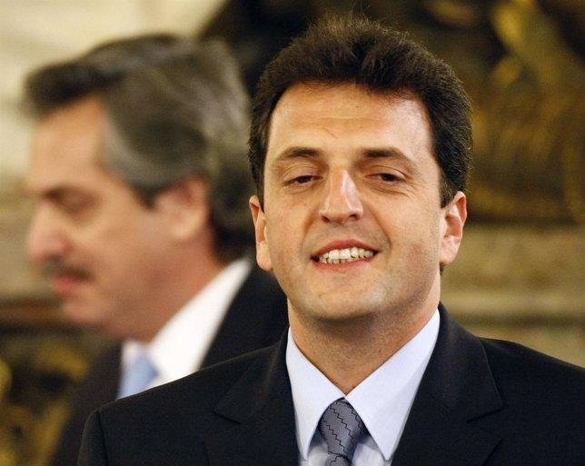 El alcalde de Tigre, Sergio Massa