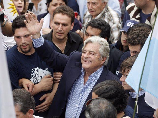 Ex presidente de Uruguay, Luis Alberto Lacalle