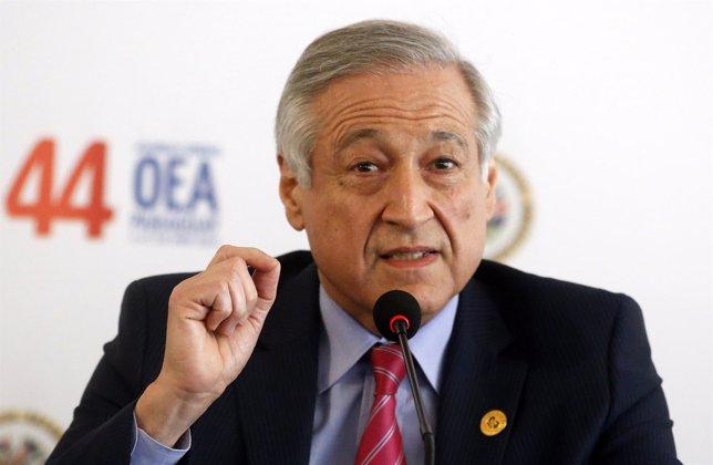 Ministro de Exteriores chileno, Heraldo Muñoz