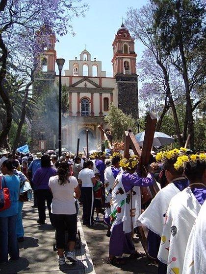 La Semana Santa en la delegación mexicana Itzapalapa, un fenómeno a nivel mundial