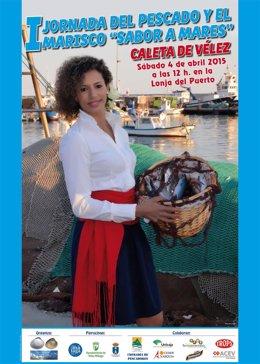 Cartel de la I Jornada del pescado y el marisco 'Sabor a Mares'