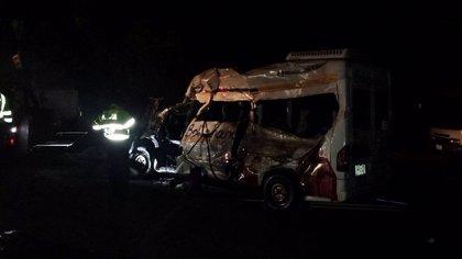 Mueren 11 personas en un accidente de tráfico en Colombia