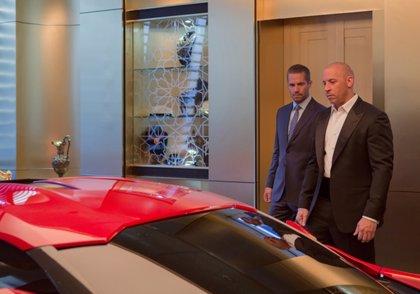 Los coches de Fast & Furious 7