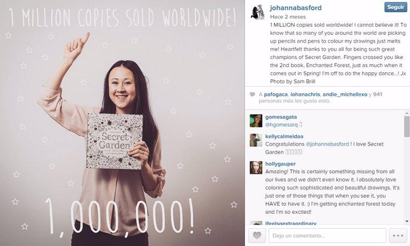 Johanna Basford, la artista que triunfa con un libro para colorear ...