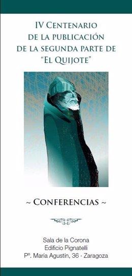 Ciclo de conferencias sobre El Quijote.
