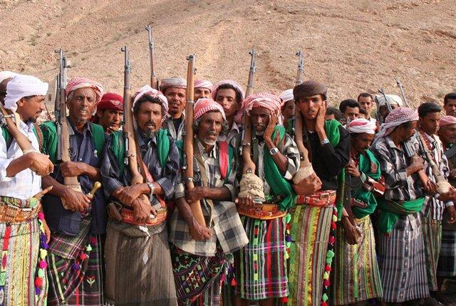 Milicias tribales de la provincia yemení de Hadramut