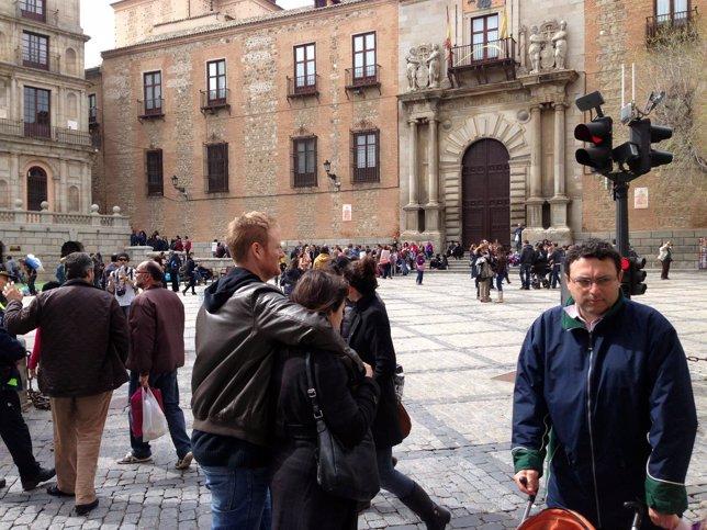 Toledo capital, turistas, turismo, visitantes