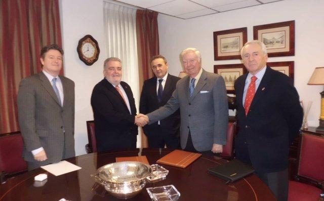 Convenio firmado por la Fundación Caja Rural del Sur