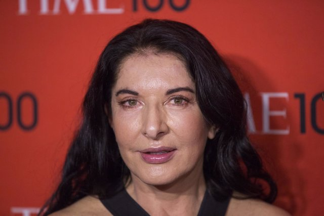 Abramovic arrives at the Time 100 gala celebrating the magazine's naming of the