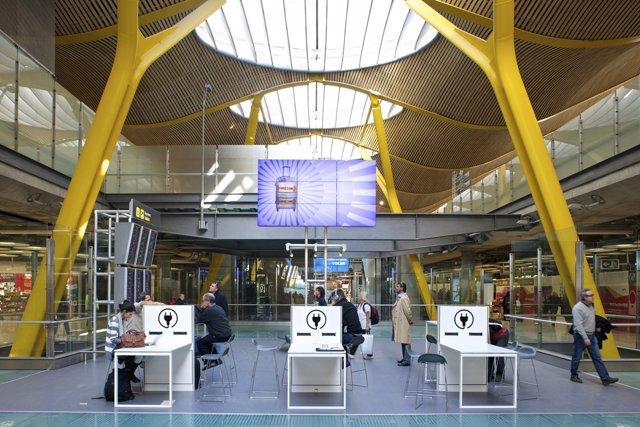 Plaza comercial del Aeropuerto de Barajas