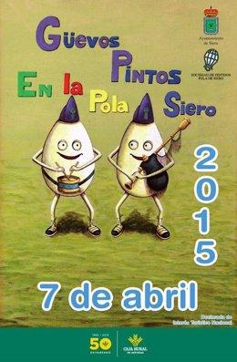 Cartel de los 'Güevos Pintos'
