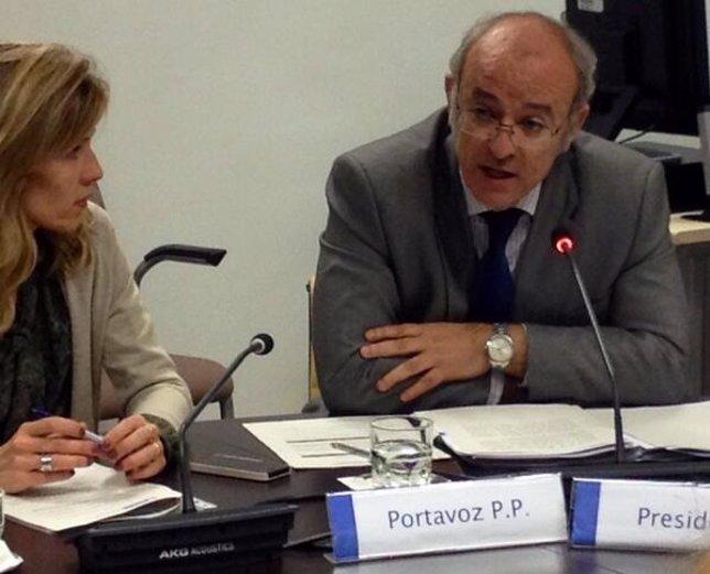 Pedro Corral en comisión