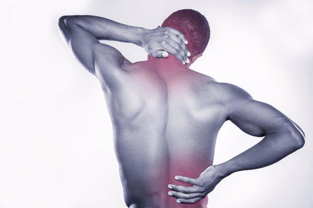 Contractura, dolor, cuello, espalda, lumbares, lumbago