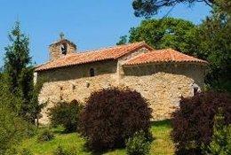 Ermita de San Román, en Escalante