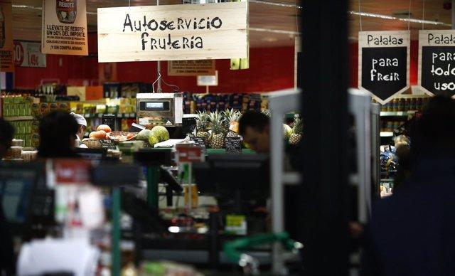 Compra, compras, consumo, IPC, comprar, supermercado, fruta, frutería