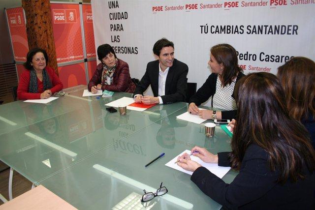 Pedro Casares con la AMEC