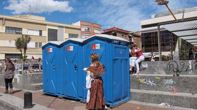 Baños Públicos El Día Del Bando De La Huerta