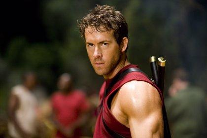 Ryan Reynolds en acción desde el set de rodaje de Deadpool