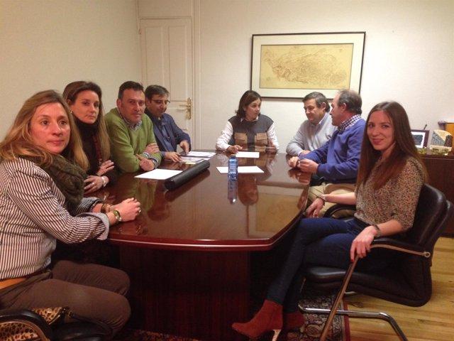 Reunión del Comité Electoral.