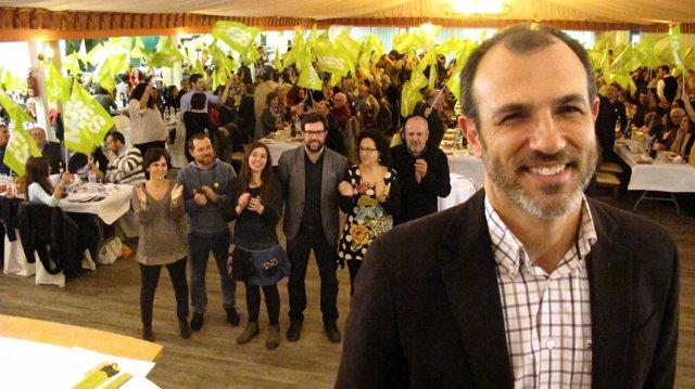 Biel Barceló y otros candidatos de MÉS