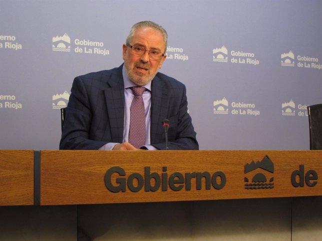 El consejero Nieto explica catálogo vídeos