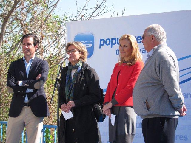 Visita de la ministra García Tejerina a Funes.