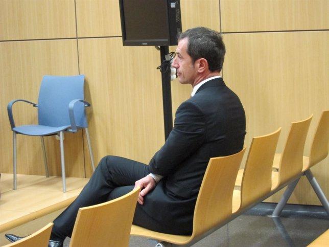 Carlos Crespo en un momento del juicio
